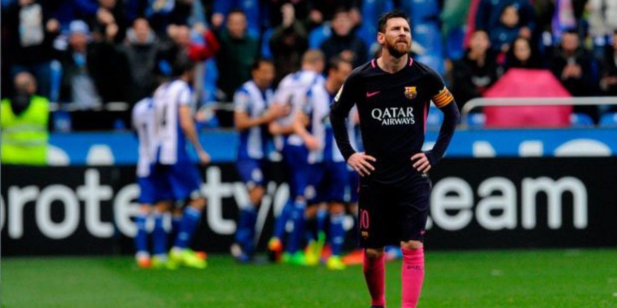 Barcelona cae y el Madrid es líder en la Liga
