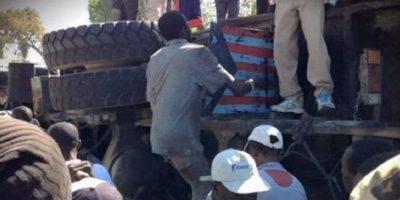 Autobús en fuga mata a 34 peatones en Haití