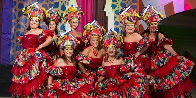 #TeVimosEn: Casa de España celebró fiesta de carnaval