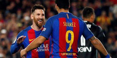 Messi marca dos goles en triunfo del Barcelona