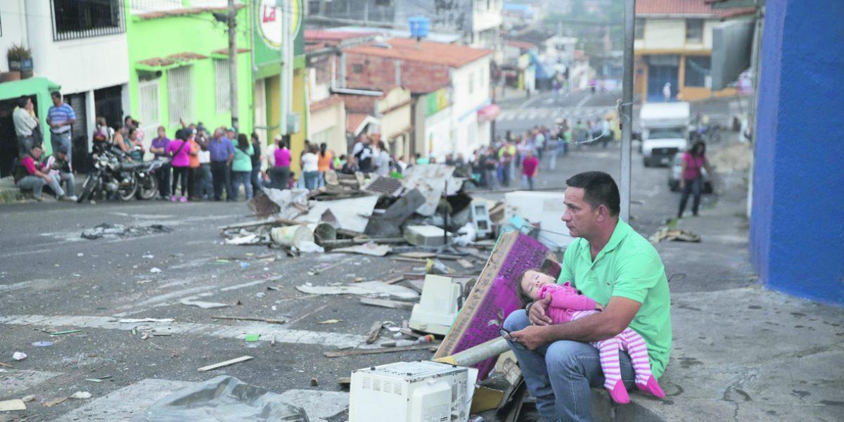 La crisis en Venezuela llega a niveles sin precedentes