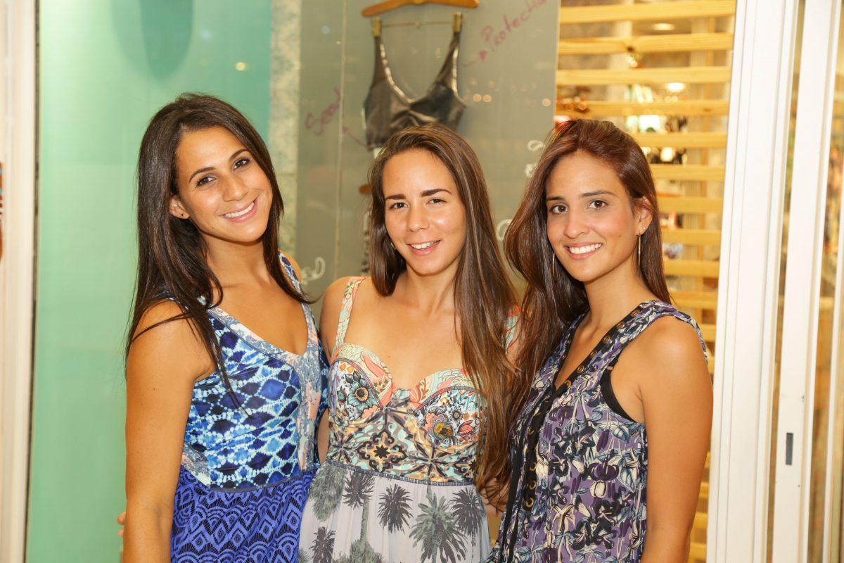 3 Margy Rijo, Paola Marie Pérez y Andrea Hernández
