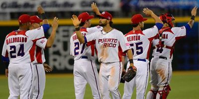 Puerto Rico y Holanda a disputar la 1ra semifinal del Clásico Mundial