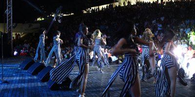 Público abarrota el nuevo anfiteatro Puerto Plata