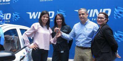 """#TeVimosEn: Entregan premios a los ganadores del concurso """"Ven a Wind y Vete Premiao"""""""