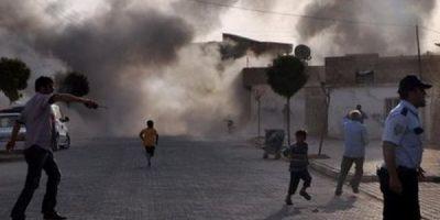 Anciana y 9 niños de la misma familia mueren tras bombardeo en Siria