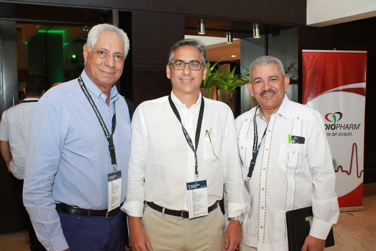 Manuel De los Santos, Pavel Garcia, Claudio Almonte