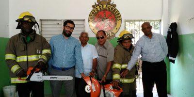 #TeVimosEn: Bomberos región Este reciben máquinas