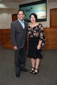 Eric Oller y Patricia Mato