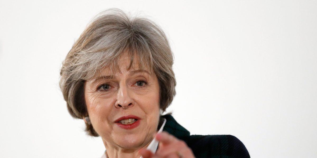 ¿Qué busca Theresa May adelantando las elecciones?
