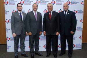 Manuel Enrique Aguiloe, Alberto Canela, Eddy Martienez y Giacono Giannetto