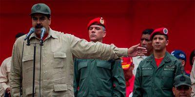 Nicolás Maduro acusa de golpe de estado a EE.UU.