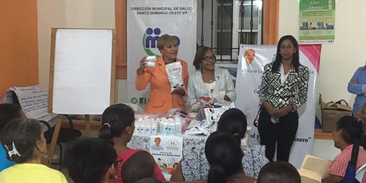 Fundación PRO-HUMANO imparte taller sobre Nutrición Infantil en SDO