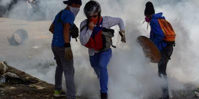 Nuevo día de protestas. Ayer siguieron los disturbios en Venezuela