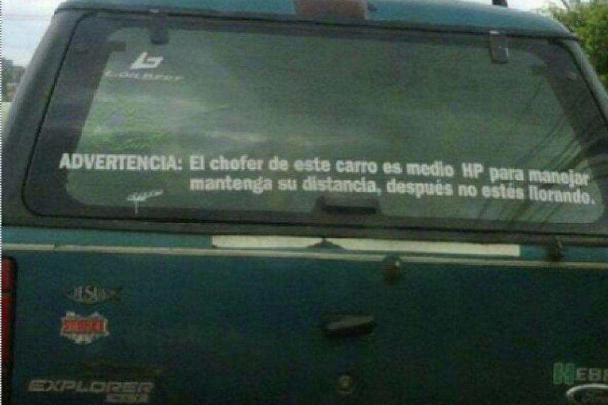 Fotos A Lo Ecuatoriano Graciosos Letreros En Los Autos