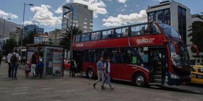 Quito Tour Bus Foto:Andes. Imagen Por: