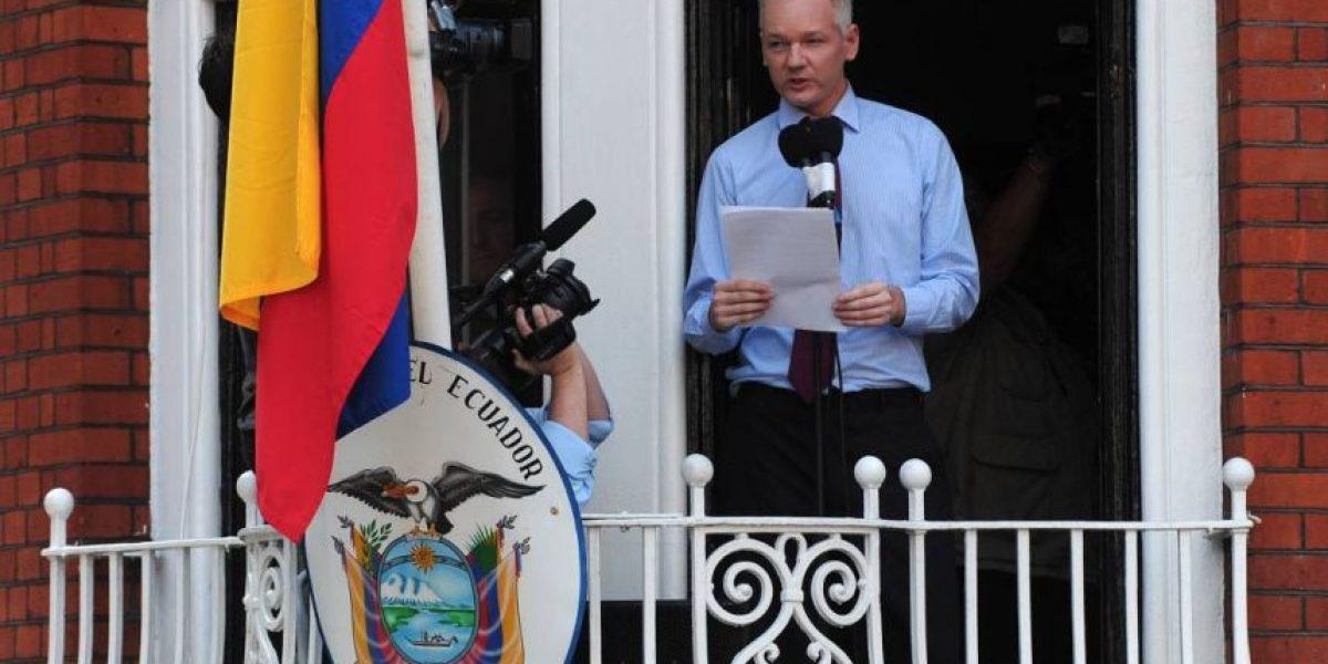 Julian Assange será interrogado el 14 de noviembre en la embajada de Ecuador