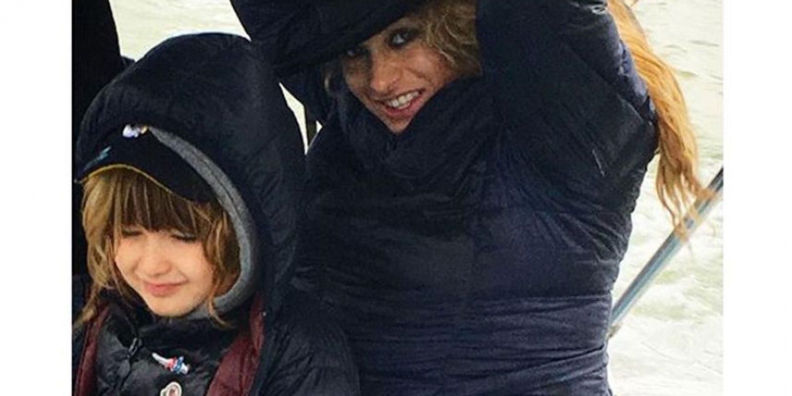 Paulina Rubio muestra su pancita en Instagram Foto:Instagram Paulina Rubio