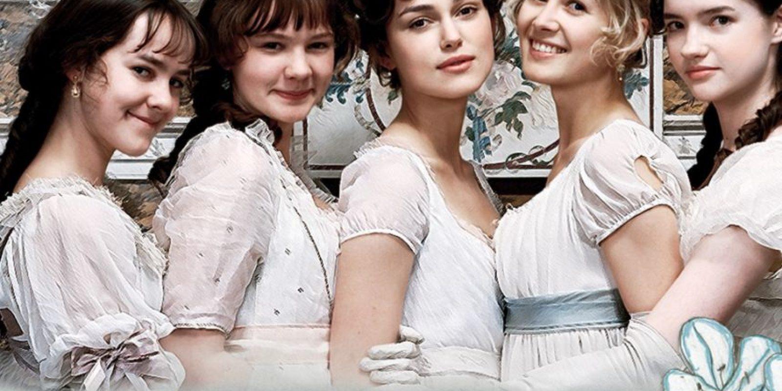 En 2005 se estrenó la versión más popular de la novela de Jane Austen. Foto:vía StudioCanal