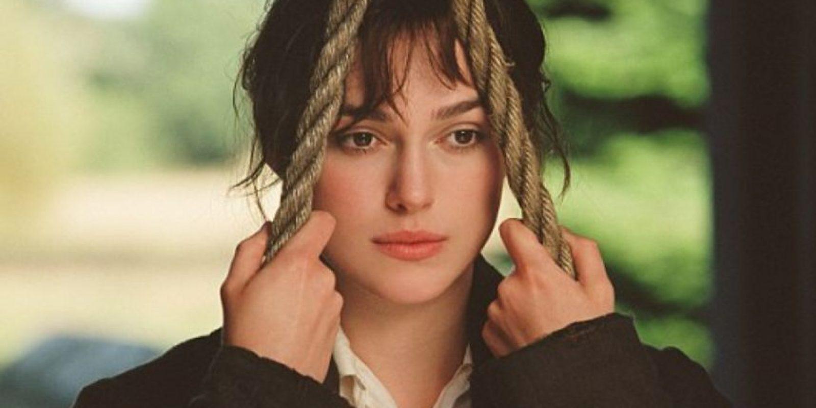 La protagonista de la obra, inteligente y rebelde. Se queda con Mr. Darcy. Foto:vía StudioCanal