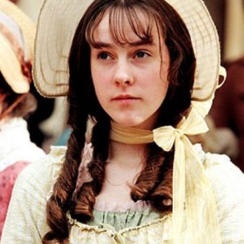 """Jena Malone era """"Lydia Bennett"""", la hermana más insensata. Se casa precozmente con """"George Whickham"""". Foto:vía StudioCanal"""