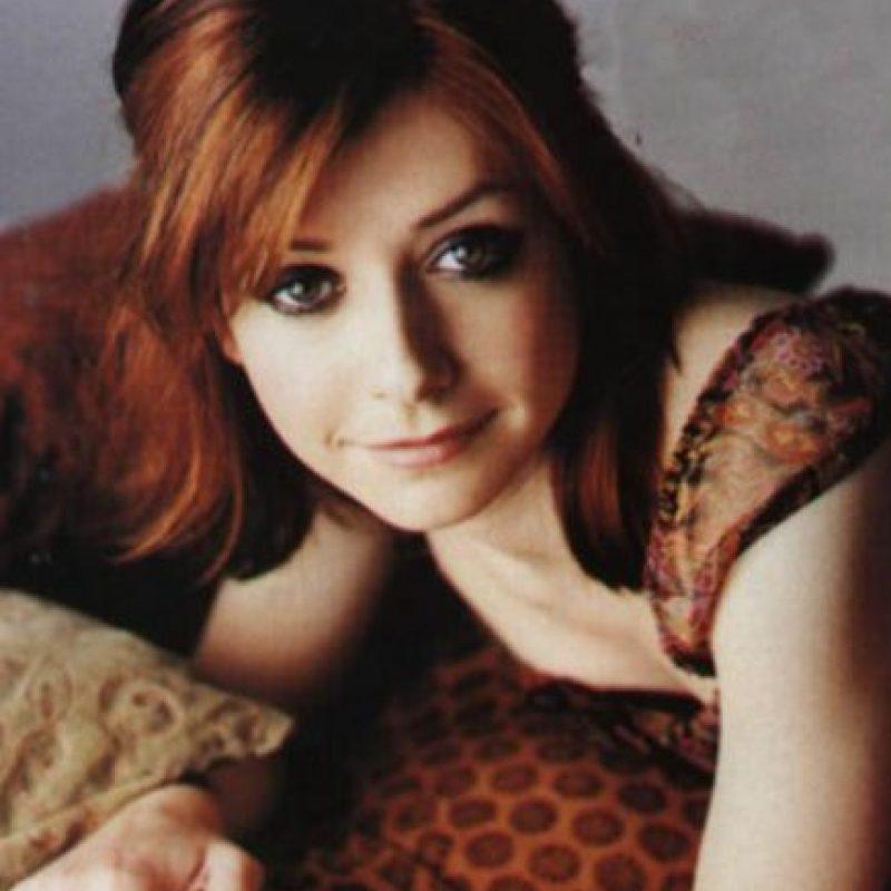 """""""Willow Rosenberg"""" de """"Buffy"""". Es superdotada para la informática. Foto:vía The WB"""
