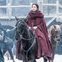 Melisandre acabó con la casa Baratheon. Foto: Vía Facebook/Game of Thrones