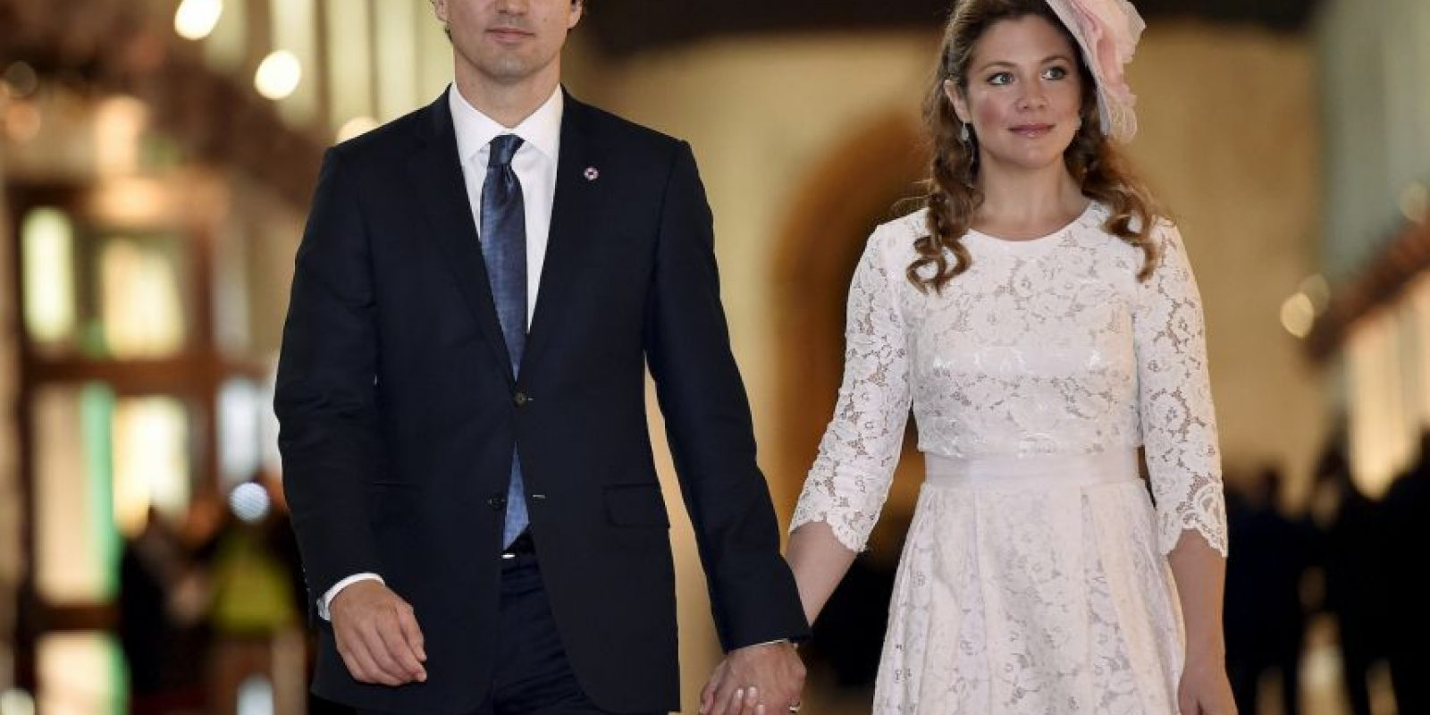 Justin Trudeau y Sophie Grégoire Foto:Getty Images
