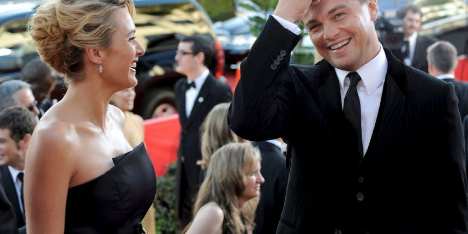 11 fotos que demuestran la gran amistad entre Kate y Leonardo Foto:Getty Images