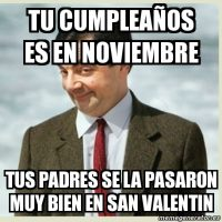 Meme San Valentín Foto:Internet