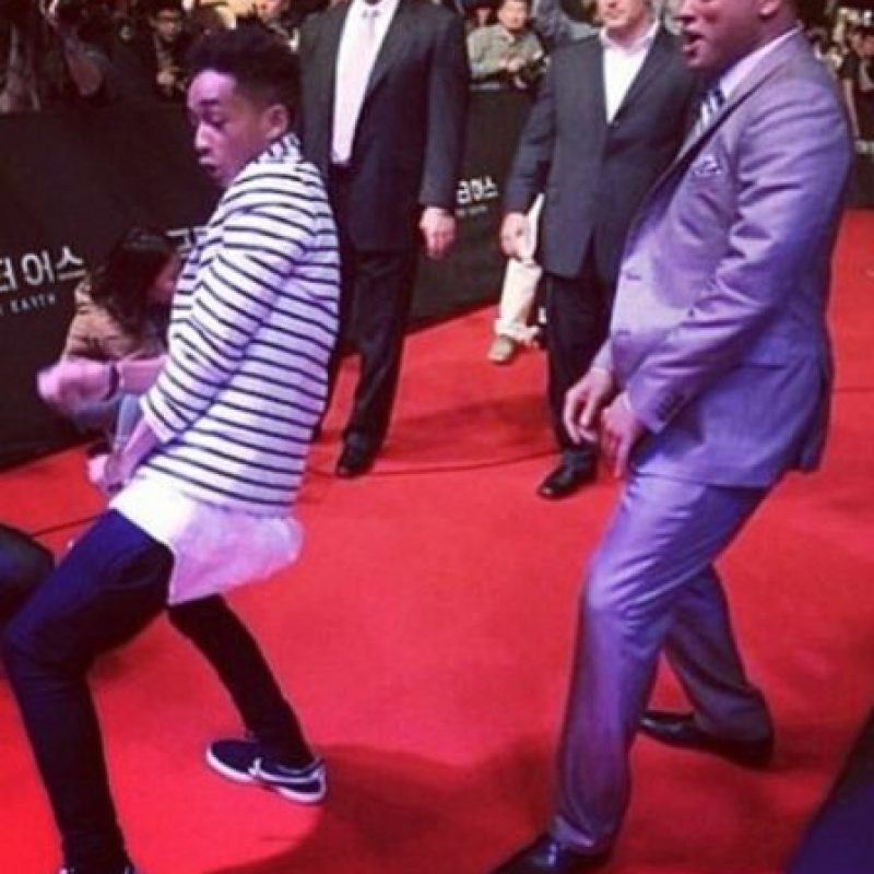 Will y Jaden Foto: Vía Instagram/@Willsmith