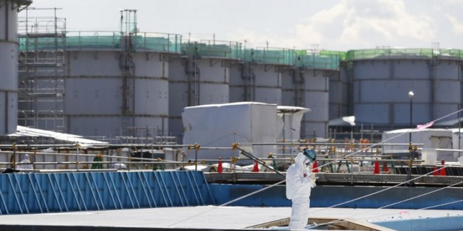 Accidente nuclear en Fukushima Foto: AFP