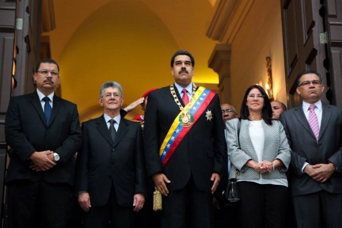 MAduro es presidente de Venezuela desde el 19 de abril de 2013. Foto:AFP