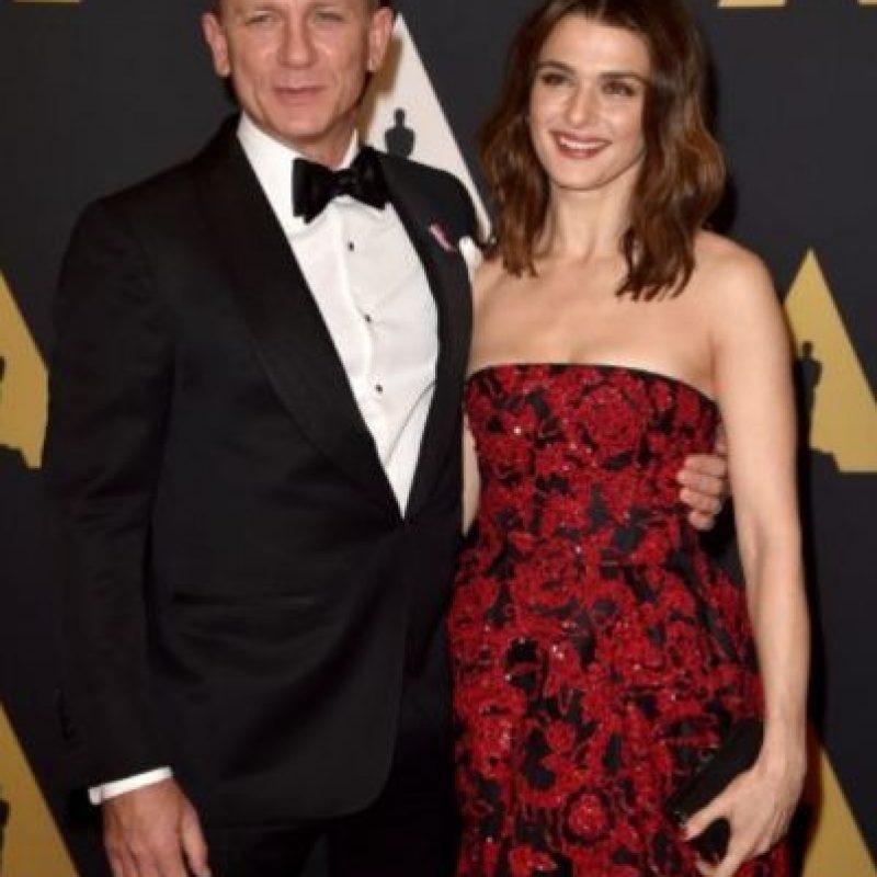 2- Daniel Craig y Rachel Weisz. Foto:Getty Images