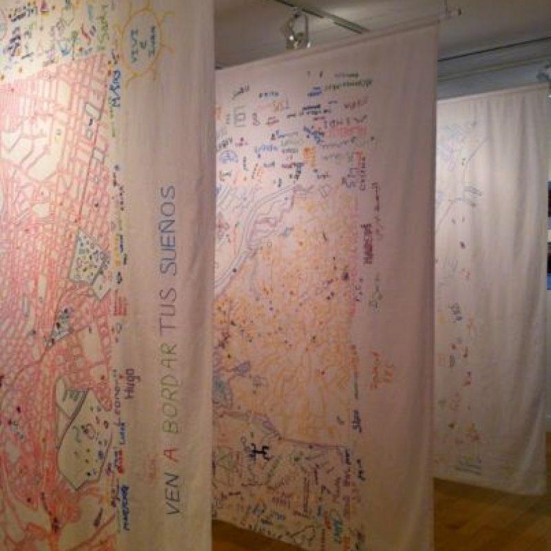 Cinco mapas forman parte de la exposición