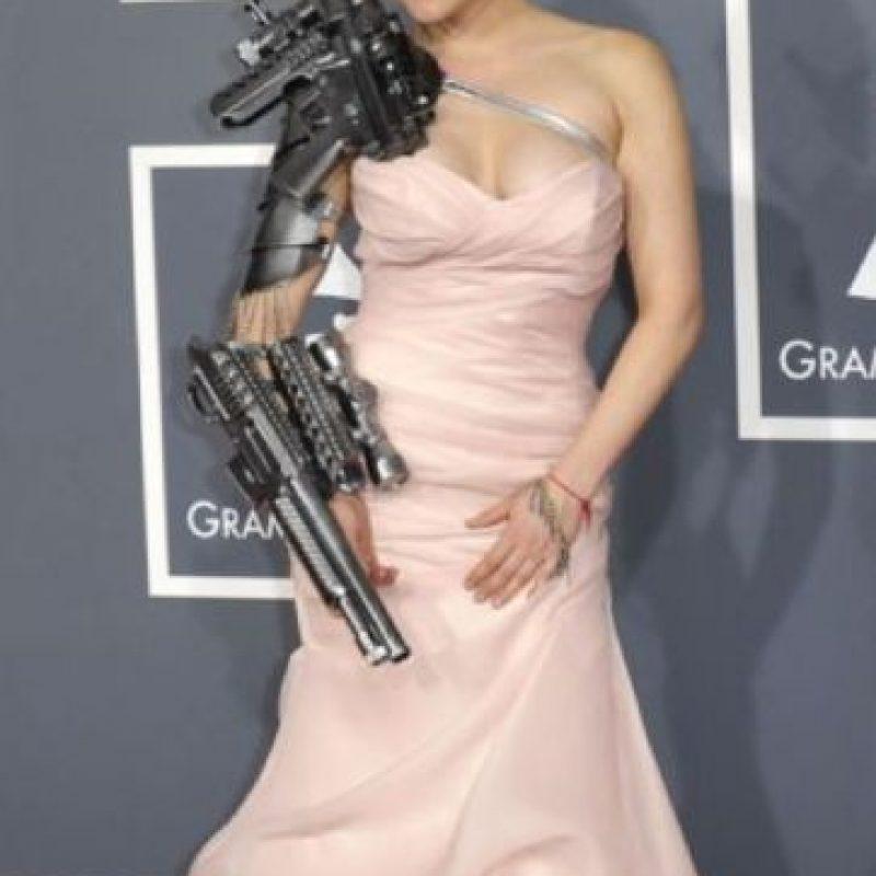 Sasha Gradiva en una película de Robert Rodriguez en 2012. Foto:vía Getty Images