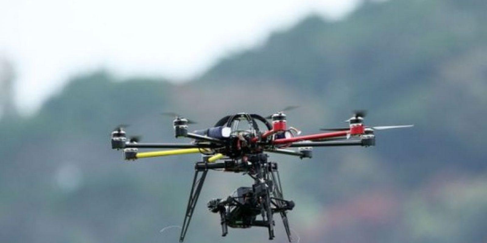 Drones: Los narcos han decidido implementar esta tecnología para facilitar su trabajo. Debido a sus dimensiones, las aeronaves no tripuladas pueden escapar a a los controles convencionales como radares. Foto:Internet