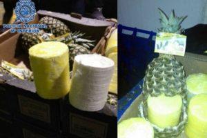 Frutas: En distintos países de Europa han incautado cargamentos de frutas importadas, rellenas con distintos narcoticos. Entre ellas piñas, plátanos y zanahorias. Foto:Internet
