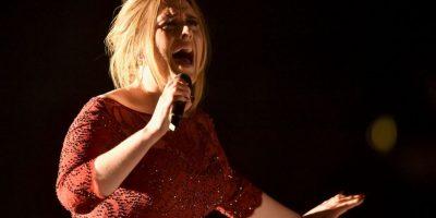 Adele sorprendió con su actuación Foto:Getty Images
