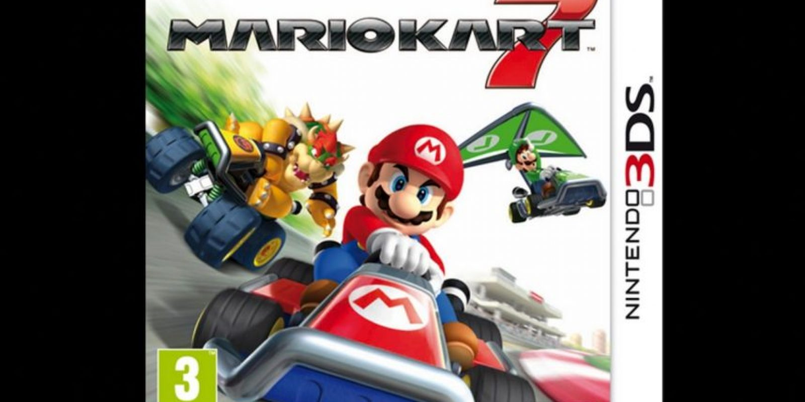 """Mario Kart 7"" para Nintendo 3DS (2011). Foto:Nintendo"