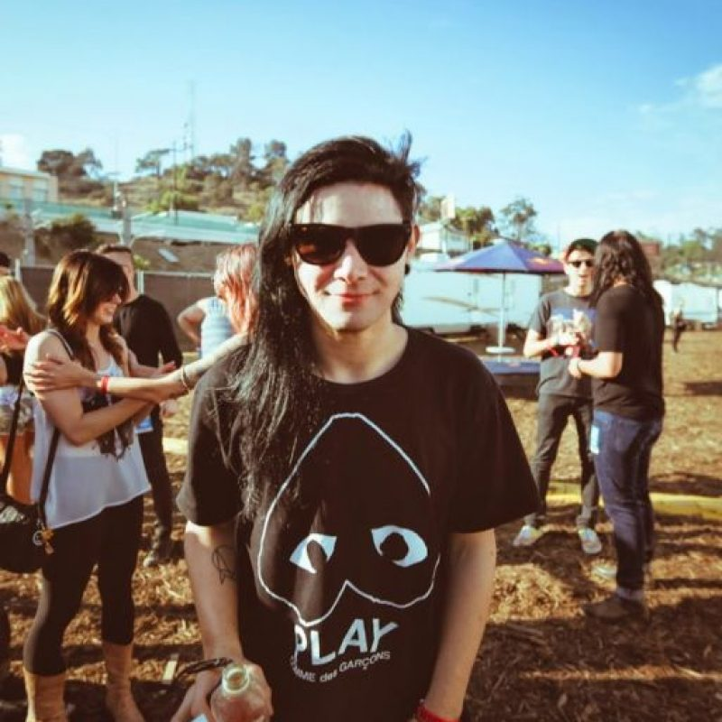 "En ""Rock and Roll Will take the mountain"" aparece con varios artistas famosos. Foto: vía Facebook/Skrillex"