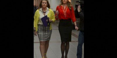Brianne Altice, aceptó haber tenido relaciones sexuales con tres estudiantes. Foto:AP