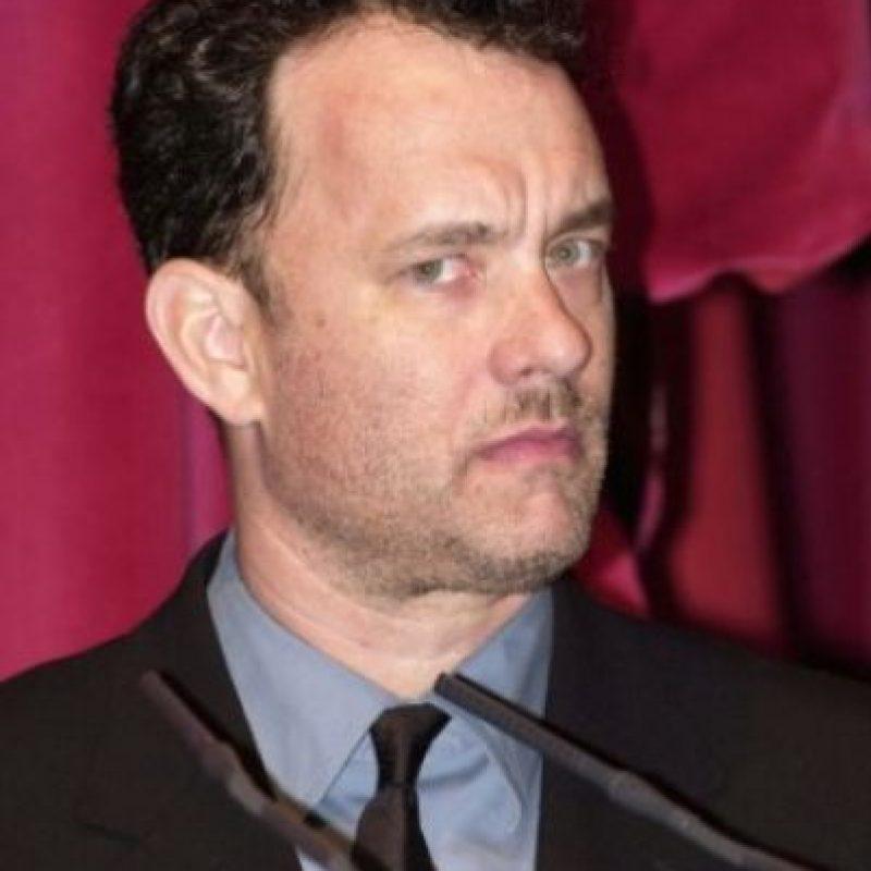Y este es su padre, Tom Hanks hace algunos años. Foto:Vía instagram.com/colinhanks