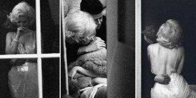Se dice que JFK mantuvo un romance con Marilyn Monroe, y en la foto a la izquierda aparecen ambos abrazados. No son ellos, son dos dobles fotografiados por la artista Allison Jackson, famosa precisamente por utilizar dobles de famosos. Foto:HistoryinPics