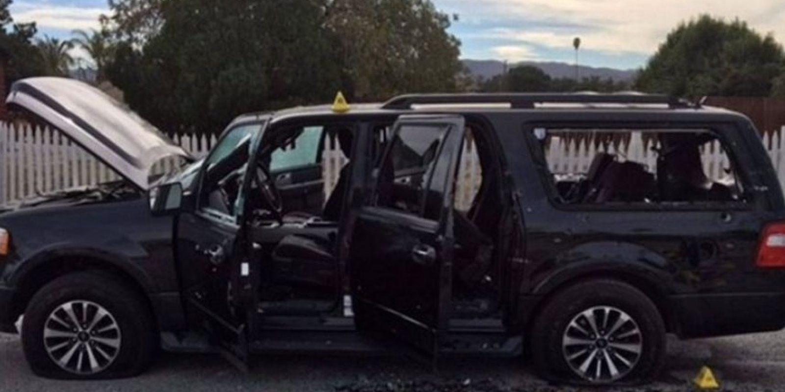 Tashfeen Malik y Syed Rizwan Farook decidieron acabar con la vida de 14 personas el pasado 2 de diciembre en San Bernardino, California. Foto:AFP