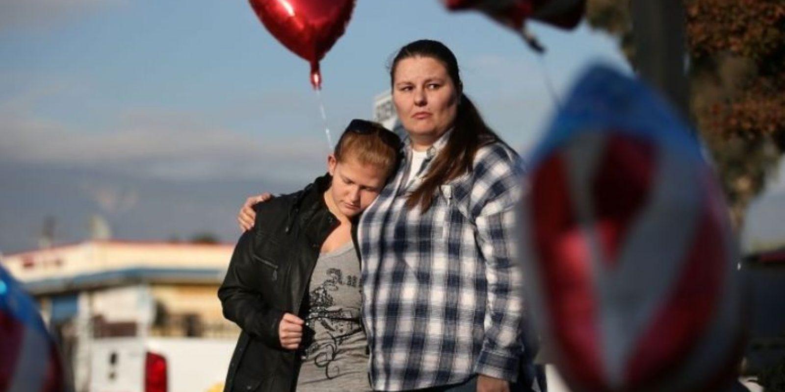 Mataron a tiros a 14 personas durante una fiesta para empleados, en San Bernardino. Foto:AFP