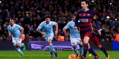 El Atlético de Madrid es el rival al que más goles le ha hecho (21) Foto:Getty Images