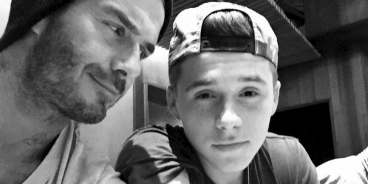 Video: David Beckham puso en riesgo su vida por uno de sus hijos