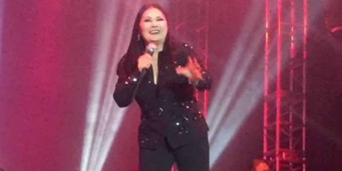 Ana Gabriel canta hoy en el Centro de Convenciones de Guayaquil