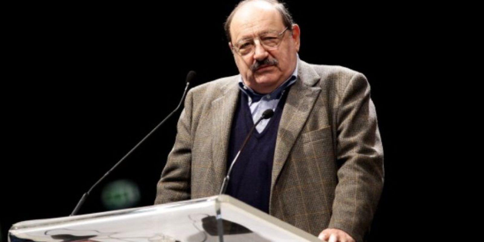 El escritor y filósofo nació en Alessandria, Italia. Foto:Getty Images
